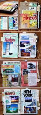 travel photo album 33 creative scrapbook ideas every crafter should travel