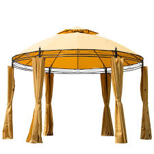 rite aid home design gazebo instructions amazon com outsunny round outdoor patio canopy party gazebo with