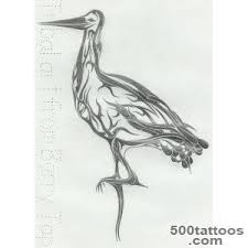 stork tattoo designs ideas meanings images