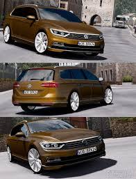 volkswagen passat 2016 interior passat ets 2 mods
