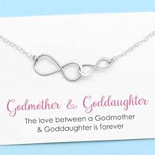 godmother necklace godmother and goddaughter infinity necklace