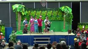 burlington elementary school the jungle book