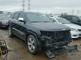 diesel jeep grand cherokee salvage 2014 jeep grand cherokee diesel suv for sale salvage title