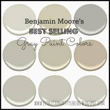 Interior House Colors by Benjamin Moore U0027s Best Selling Grays Evolution Of Style