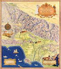 Los Angeles Maps by Map Of The Old Spanish And Mexican Ranchos Of Los Angeles County