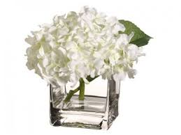 silk hydrangea white hydrangea silk flower arrangement arwf3395 2 floral home