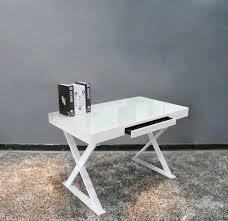 modern white gloss office desk sj11 desks