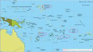 rarotonga on world map