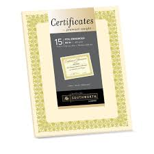 Walmart Resume Amazon Com Southworth Premium Weight Foil Enhanced Certificates