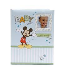 baby boy memory book disney mickey mouse baby boy keepsake record memory