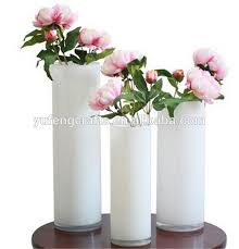 Cylinder Vases Wedding Centerpieces Black Glass Cylinder Vases Floral Bouquet Container Wedding