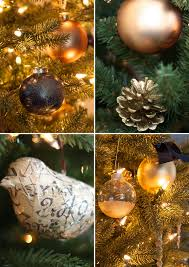 decorating a classic kennedy fir with diy decorations