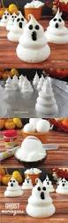 ghost meringues for halloween only 3 ingredients and so easy to