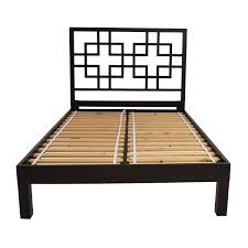 65 off west elm west elm cutout headboard full bed frame beds