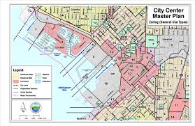 Boston Zoning Map by City Center Master Plan Bellingham Washington