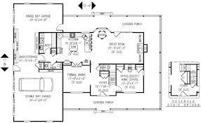Ft Plans Farmhouse Style House Plan 4 Beds 2 50 Baths 2579 Sq Ft Plan 11 123