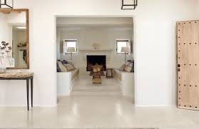 banc beton cire salle de bain beton cire blanc kirafes