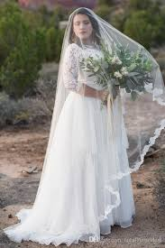 modest wedding dresses with 3 4 sleeves discount 2017 plus size a line modest wedding dresses with 3 4