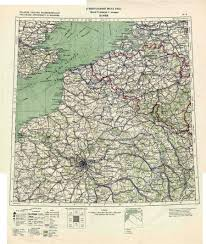 Seattle Topographic Map by 1938 Soviet Topographic Map Of Northeastern France Belgium And