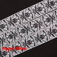 damask ribbon damask and floral ribbon flippin ribbon