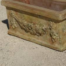 Rectangular Terracotta Planters by Terracotta Planter Round Rectangular Tuscany Poterie Le