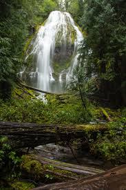 Oregon Waterfalls Map by Proxy Falls Hiking Loop Hiking In Oregon