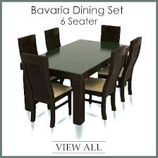 glass top dining table set 6 chairs round table set for 6 kitchen chairs set of 6 round counter height