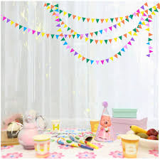 Home Decoration For Birthday Triangle Party Decoration Promotion Shop For Promotional Triangle