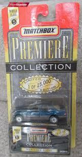 matchbox mercedes matchbox premiere collection blue mercedes 600sl 34364 3 original