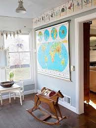 Map Home Decor Best 25 Vintage Playroom Ideas On Pinterest Playroom Wall Decor
