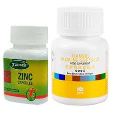 Obat Zinc belanja murah tiens paket obat jerawat herbal vitaline zinc harga