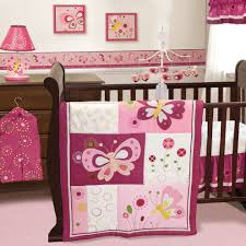beauty of butterfly crib bedding home inspirations design