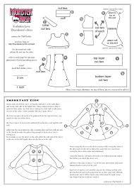 monster high fl draculaura dress pattern part 1 2 monster high