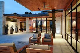 outdoor patio ceiling fans patio modern with stone chimney floor