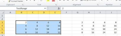 writing arrays to the worksheet u2013 vba function newton excel bach