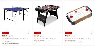 target air hockey table target cyber monday deals save 30 off game room toys plus an