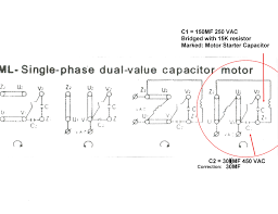 single phase capacitor start run motor wiring diagram concer biz