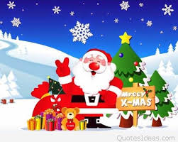 happy merry x image with santa claus 2015