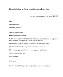invite for interview letters template best ideas of thank you