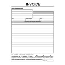 contractor invoice templates free invoice template