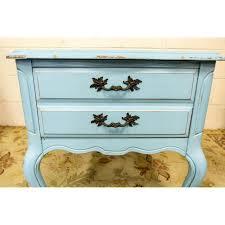 Bassett Nightstand Bassett Furniture Shabby Chic Nightstand Chairish