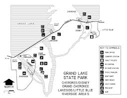 Island Lake State Park Map by Oklahoma State Parks Campsite Reservation System