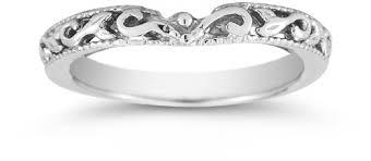 art deco 1 4 carat diamond bridal set 14k two tone gold