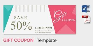 free voucher template custom gift certificate templates for