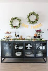 thanksgiving sideboard decor u0026 entertaining ideas