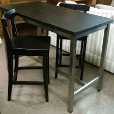 Ikea Bar Table by Uhuru Furniture U0026 Collectibles Sold 36