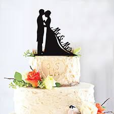black wedding cake toppers black acrylic mr mrs wedding cake topper for wedding marriage