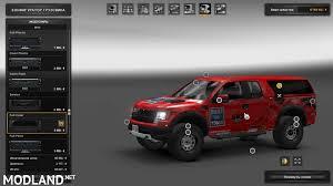 Ford Raptor Svt Truck - ford f150 svt raptor v2 0 for 1 24 mod for ets 2