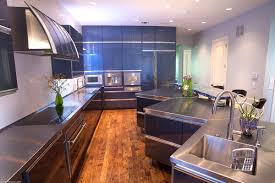 Commercial Kitchen Backsplash Open Concept Modern Kitchen Shirry Dolgin Hgtv Regarding