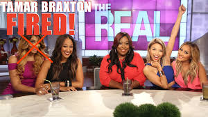 tamar braxton fired from the real daytime i was there at the